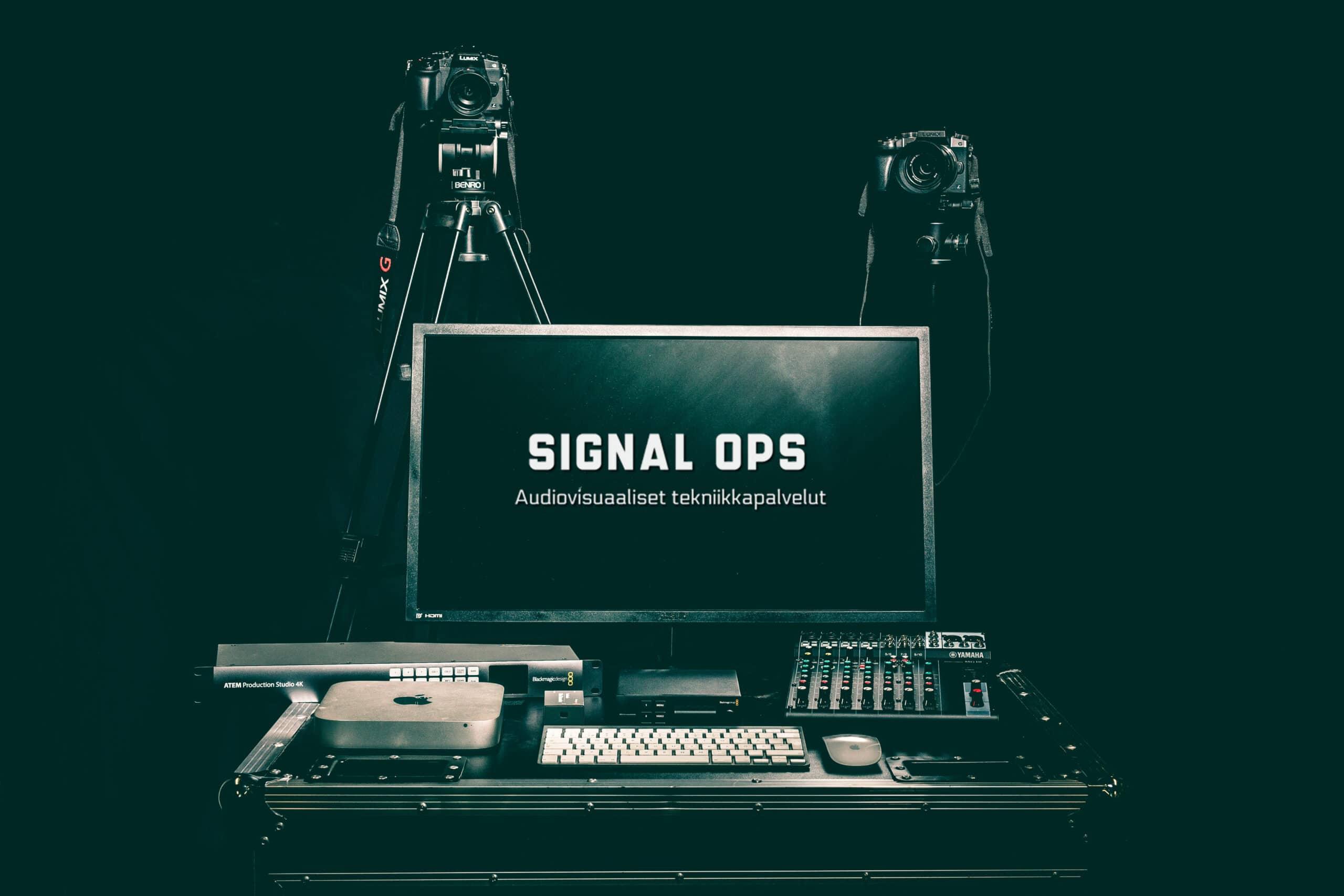 Helppo striimauspalvelu, Signal Ops AV-tekniikkapalvelut